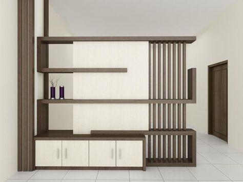 desain partisi ruangan yang cocok untuk rumah minimalis
