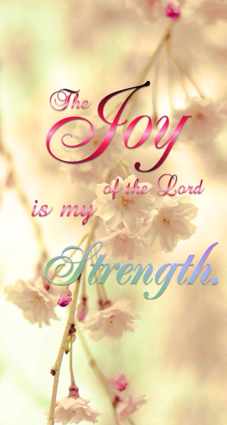 Find your Joy in Jesus!  He will carry you through.
