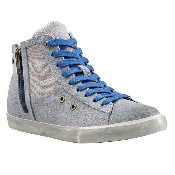 Women's Earthkeepers® Glastenbury Side Zip Leather and Fabric Chukka Sneaker