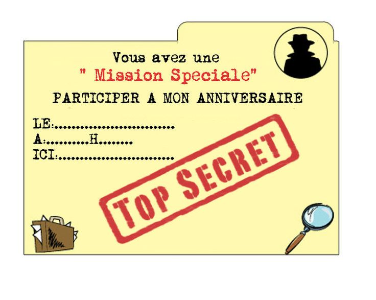 Assez 47 best Anniversaire enfant invitation images on Pinterest  QH97