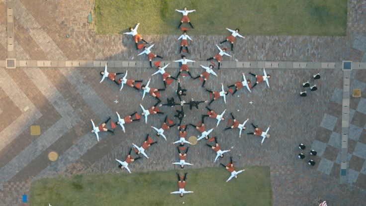 The latest brilliantly choreographed video for OK Go, for new track I Won't Let You Down, with twirling umbrellas and some curious segway type vehicles...