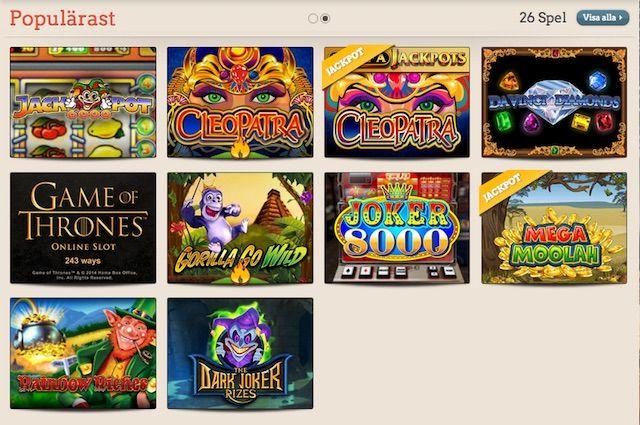 Sugen på att prova på Sveriges bästa mobil casino? Visste du att du kan registrera ett konto på LeoVegas och få 20 spinn gratis?