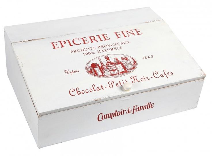 Comptoir de famille cutlery box epicerie fine 40 x 28 x h 14 cm comptoir d - Fauteuil comptoir de famille ...