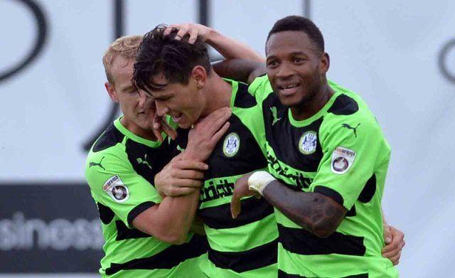 Ecco il Forest Green Rovers, la prima squadra di calcio vegana - http://www.maidirecalcio.com/2015/11/06/forest-green-rovers-squadra-vegana.html