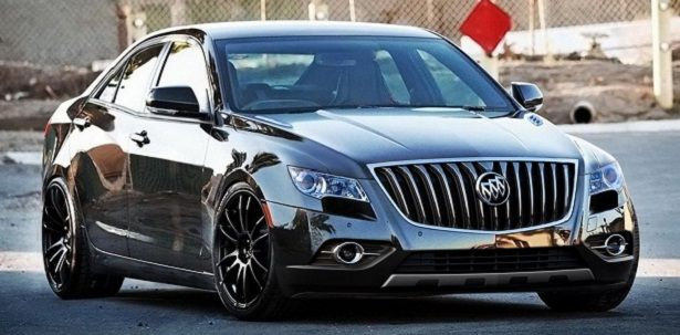 2015 Buick Grand National front