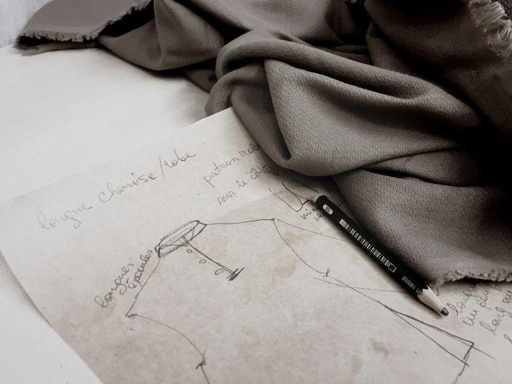 Dress in cotton by Masha Andrianova