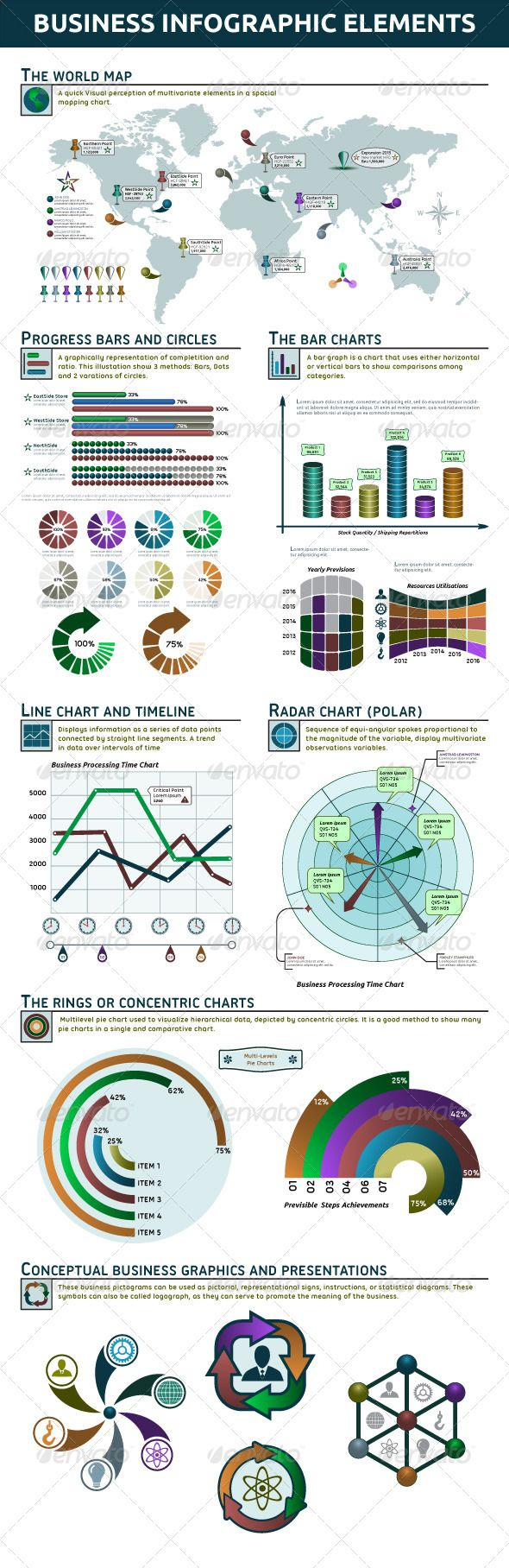 photoshop how to make infographics