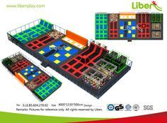 5.LE.B5.604.270.02 Customized Large Trampoline Park Design