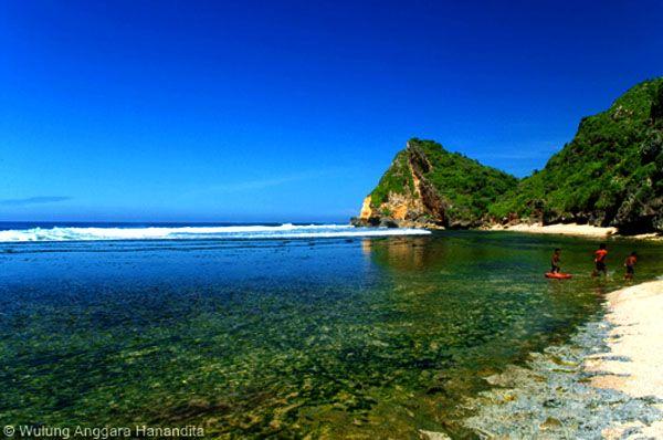 ngobaran beach jogjakarta