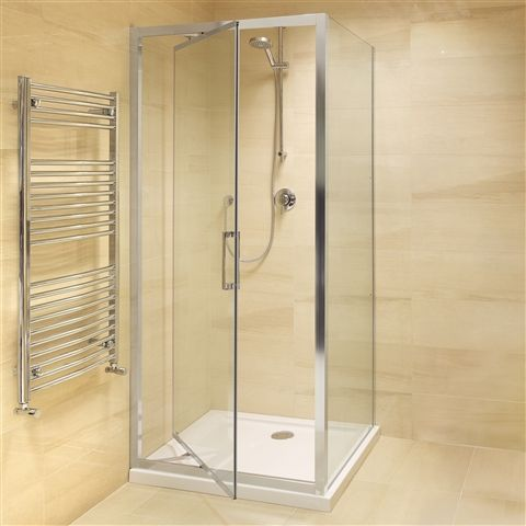 Melaine In-fold Shower Enclosure 760 x 760mm