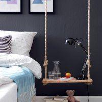 Une table de nuit design - Marie Claire Idées