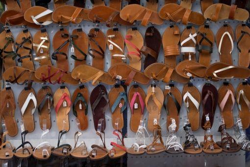 Visit Greece   Athens for shopping lovers #shopping #leisure #SeaAndDo #sandals #Monastiraki #Athens