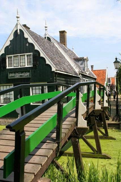 Village of Zaanse Schans ~ Noord, Holland, Amsterdam