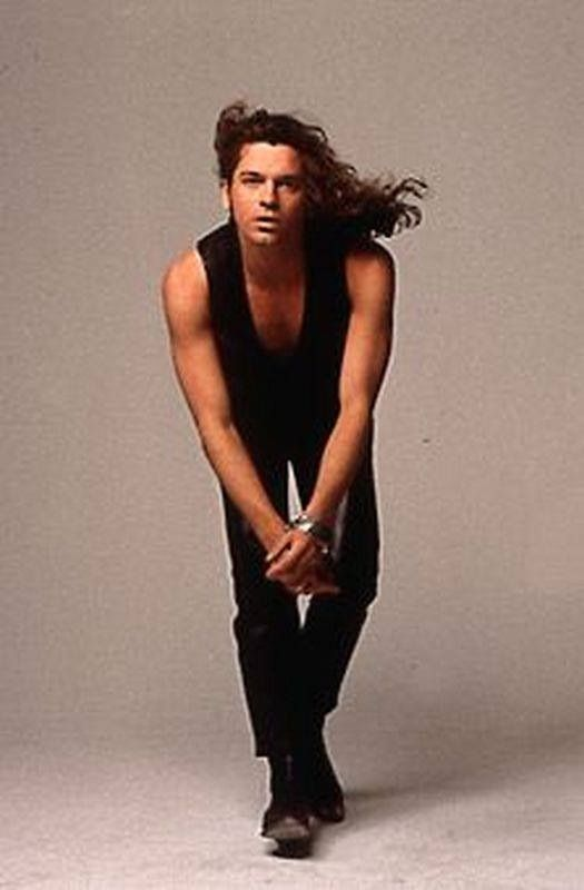 ...saw his beautiful image again today. peaceful thoughts for the late Michael Hutchence...