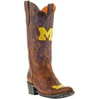 Michigan Wolverines Ladies Gameday Cowboy Boots!
