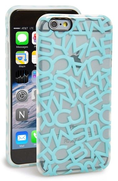 MARC BY MARC JACOBS 'Scrambled Logo' iPhone 6 Case available at #Nordstrom