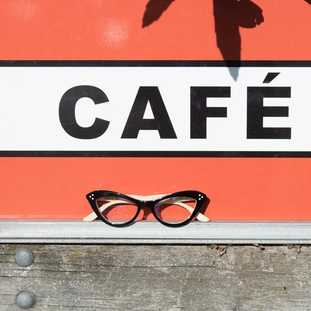"The #CarolineAbram ""Satyr"", photographed at The Suter Cafe entrance next to Queens Garden.  #Kuske #KuskeEyewear #Nelson #QueensGarden #GigaTownNSN"