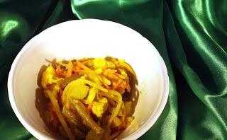 Blondie kookt: Atjar van mijn schoonmoeder