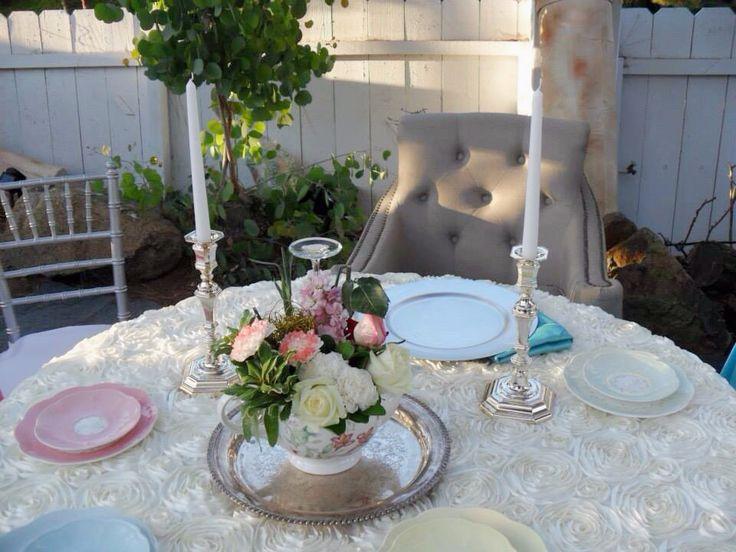 Alice in wonderland quinceañera - table of honor