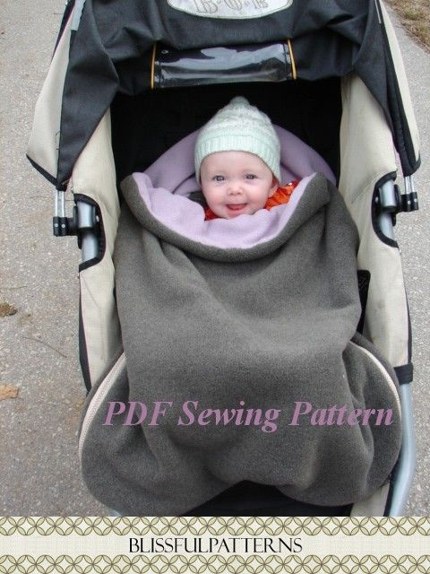 Stroller sleeping bag--I love ours!!