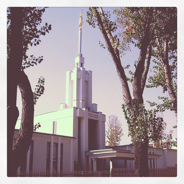 LDS Temple. Santiago, Chile