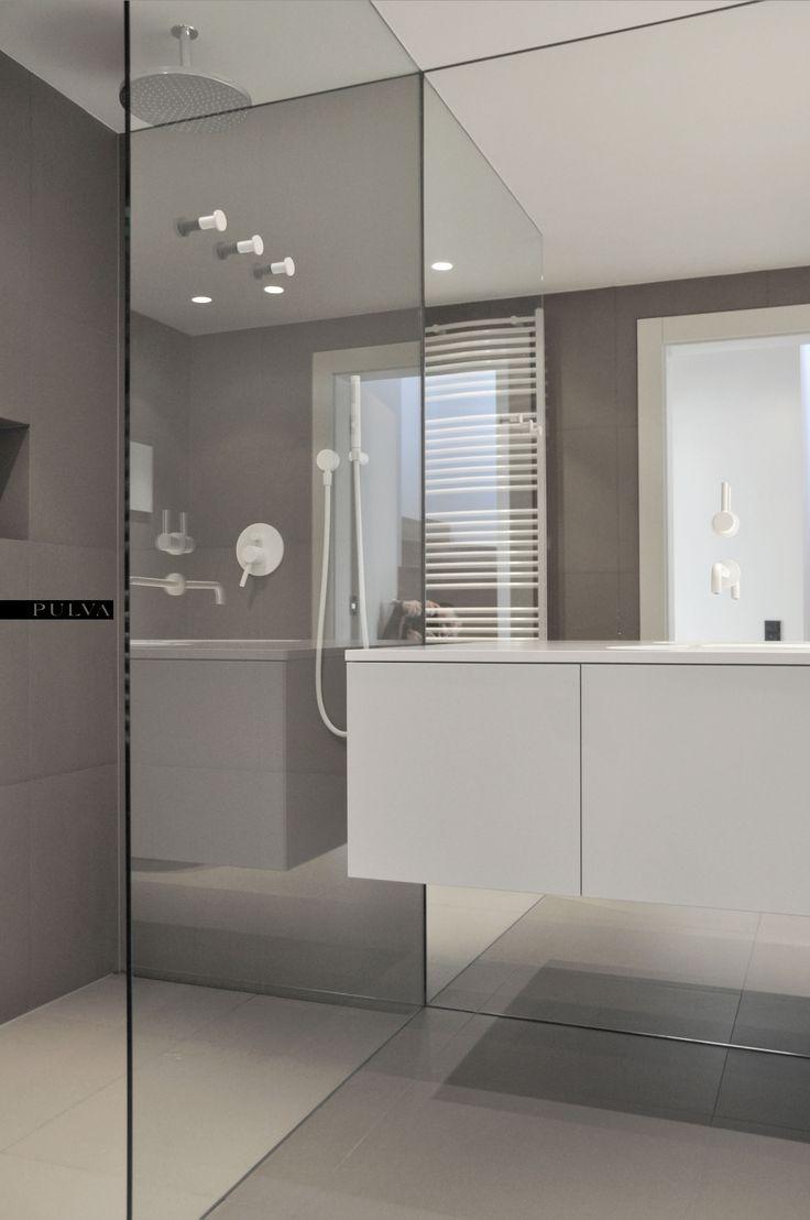 minimalistic interior design, bathroom, Zucchetti