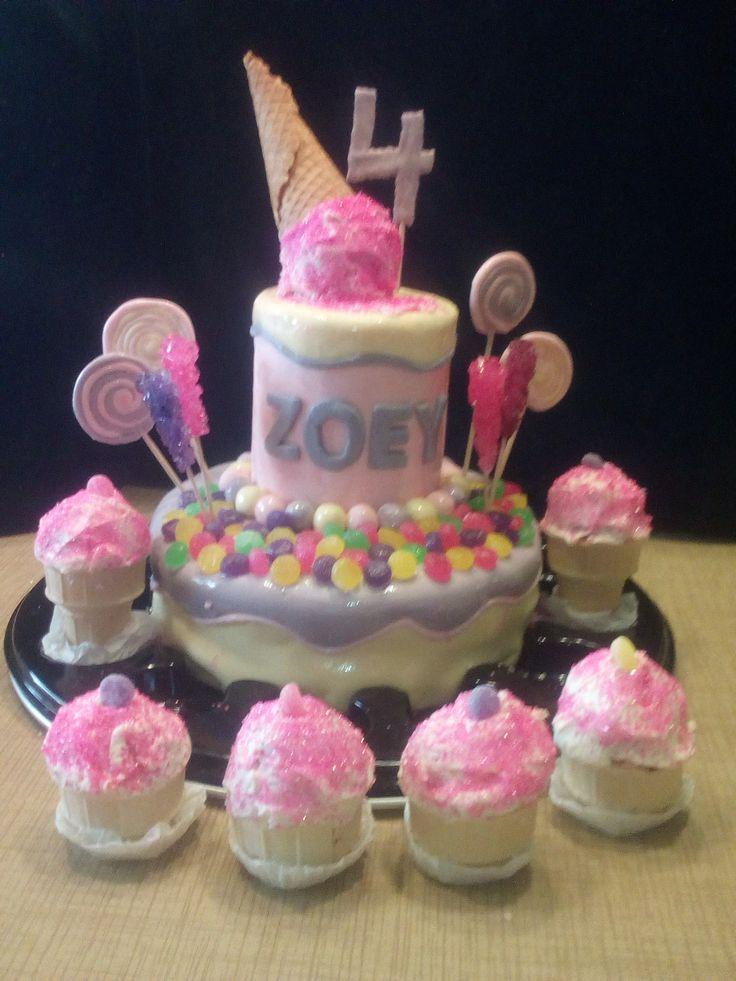 Gâteau de Zoey (4 ans)