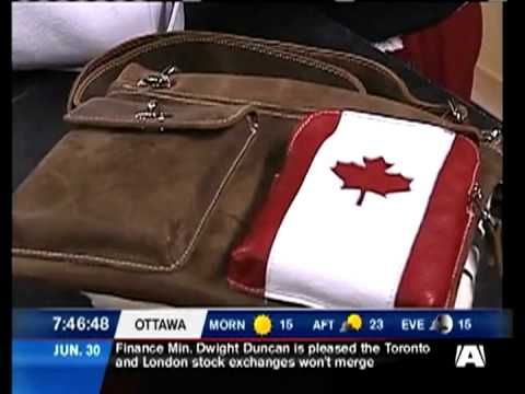 Buy Canadian First on CTV's Morning Live Ottawa: Canada Day with Roots - June 2011