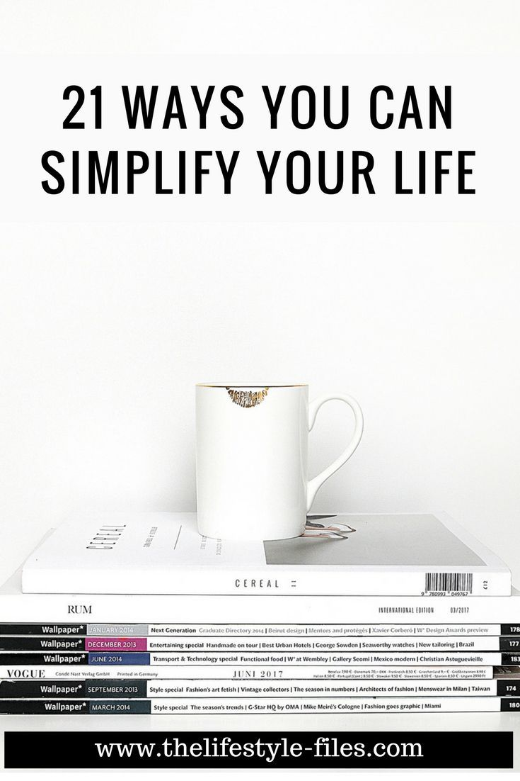 How to simplify your life simple living / minimalism / organizing / decluttering / productivity / slow living / lifestyle
