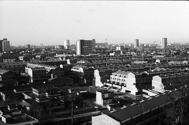 Loughborough junction skyline 1975