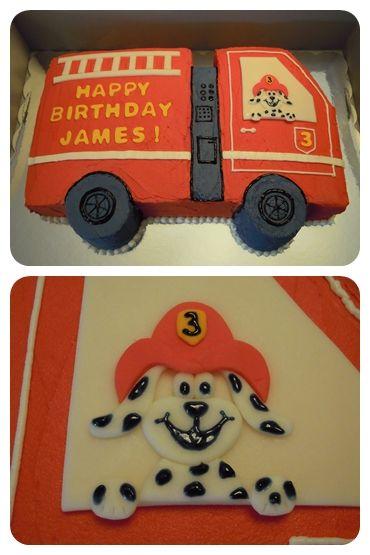 Fire Truck Cake....Luke