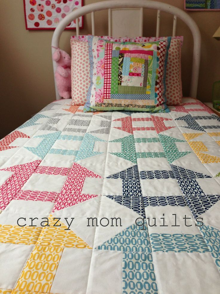 crazy mom quilts: pezzy complete!.