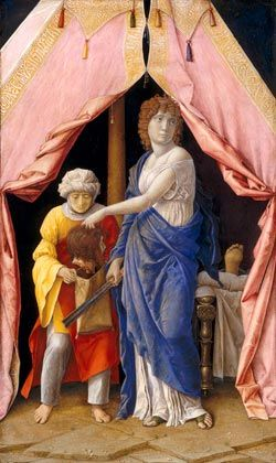 Andrea Mantegna Judith with Her Maidservant Abra: