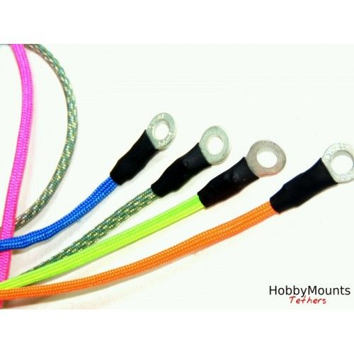 The Tether Paracord Safety Strap / Lanyard by Hobby Mounts - 30cm, 45cm, 60cm, 75cm or 100cm