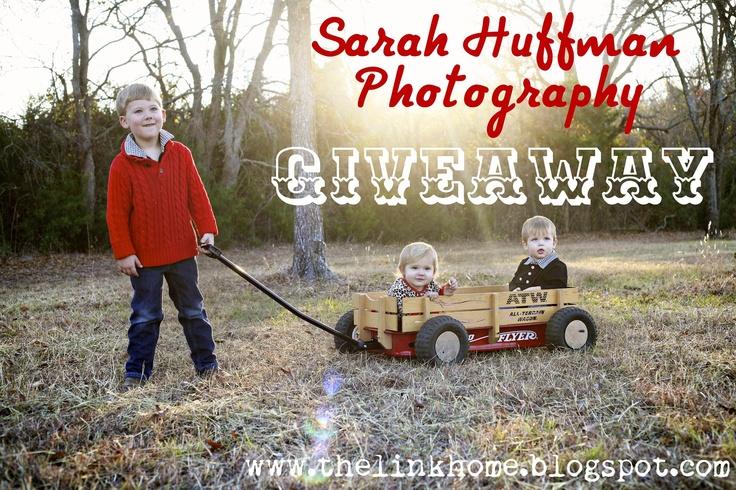 The Link Home: sarah huffman photography {giveaway}