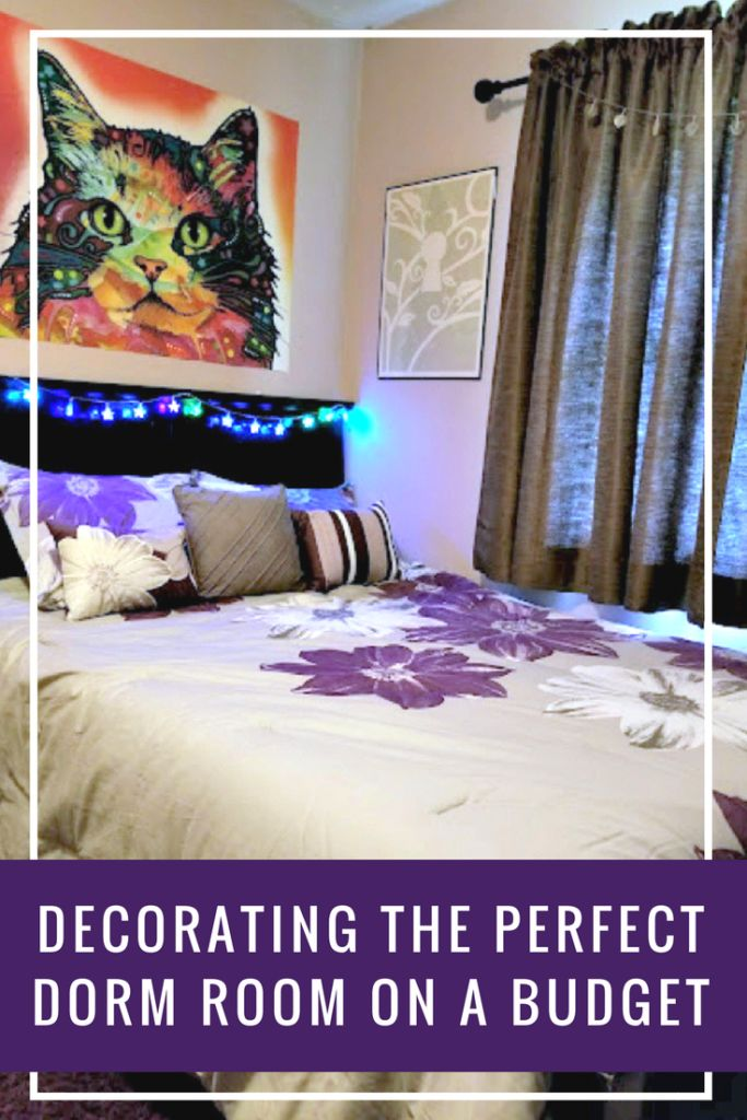 Do you have a kid who is college bound? Before you start shopping, here are my top tips on how to decorate the perfect dorm room on a budget. #ad @walmart dhpfurniture #Mainstays #BelieveInSleep