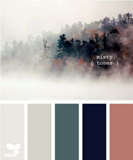 Misty Tones - these colors are beautiful and so is the painting to showcase them!
