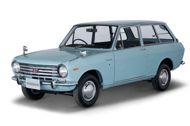 Nostalgic2days特別展示車両 1967年式日産サニーバン1000デラックス