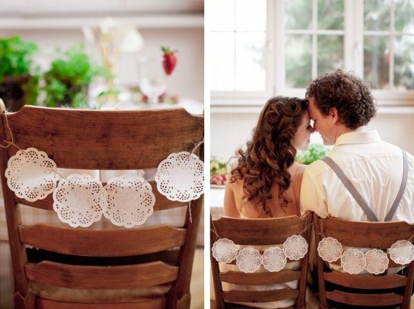 Ber Ideen Zu Stuhl Dekoration Hochzeit Auf