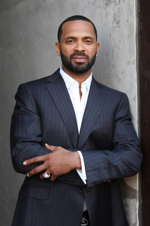 A man who makes me laugh and looks great in a suit- Mike Epps.