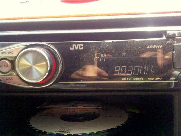 showing loyalty to my ex-employer. listening to radio mirchi