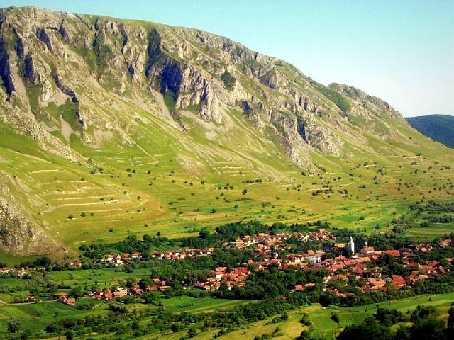Rimetea Village, Transylvania, Romania
