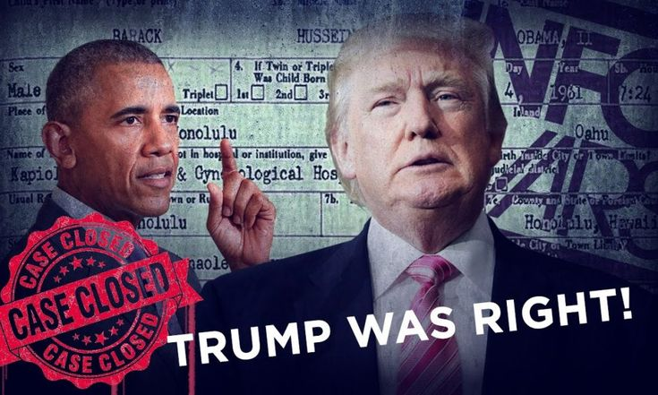 Trump is Right! Obama's Family Published his Kenyan Birth Certificate…