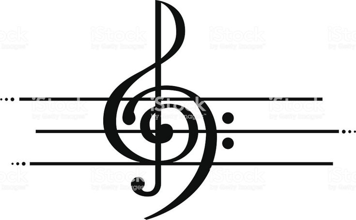 Marriage of Treble and Bass Clef in 2020 Treble clef