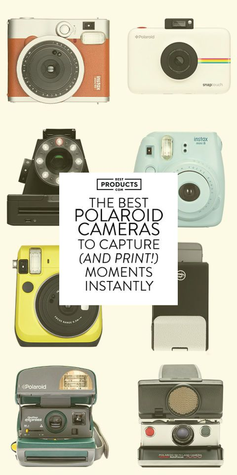 10 Best Polaroid Cameras in 2017 - Instant Film Polaroid Cameras & Accessories