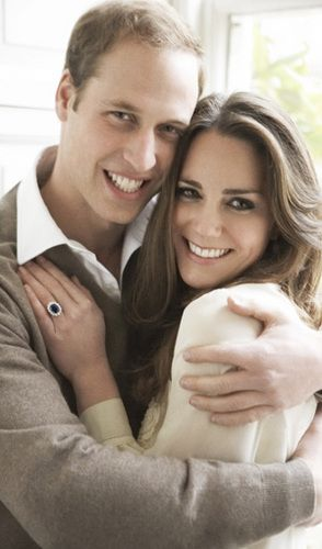 Prince William Kate Middleton Official engagement photo by Mario Testino