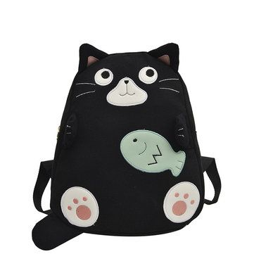 Shoulder Canvas Bag Cartoon Pattern Student Shoulders Wild Campus Harajuku Style…