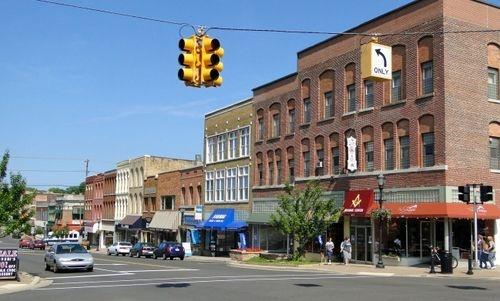 Main street, Niles Michigan. Pass by everyday on my way to work.