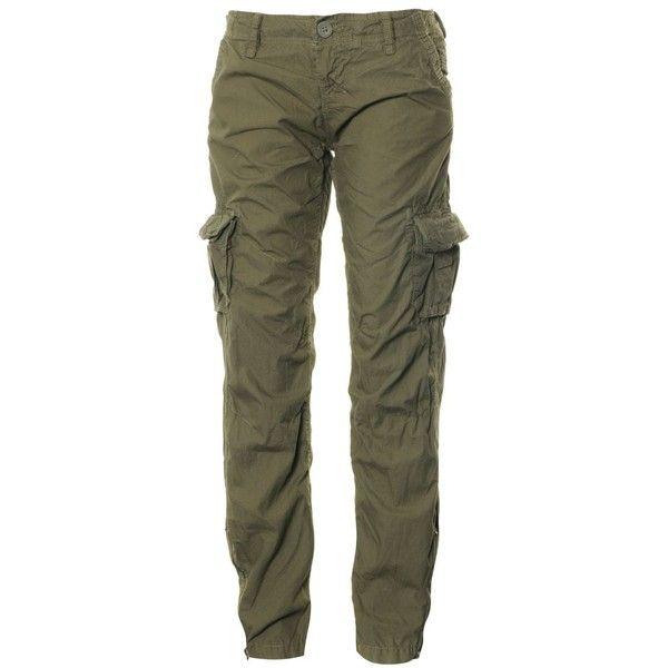 Superdry Army Cargo Lite Pants ($40) ❤ liked on Polyvore