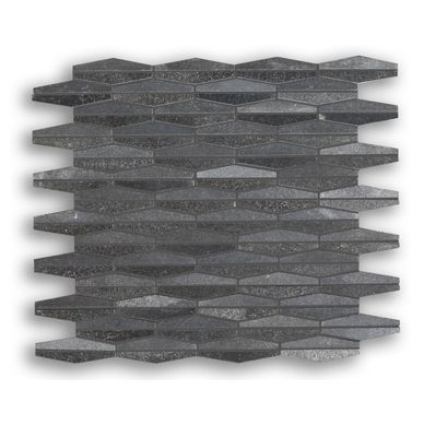Cabana Coal Mix 1X3 Mosaic